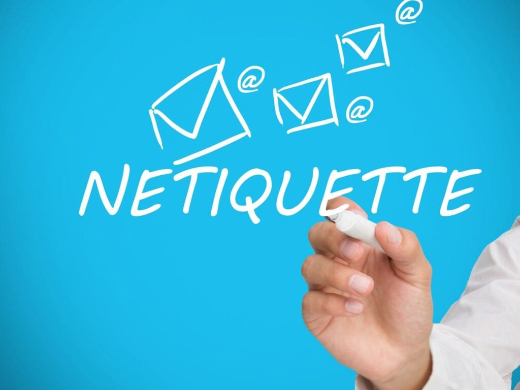 Examples of Good Netiquettes